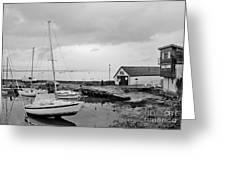 Northern Spring Marina Greeting Card