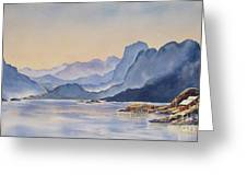 Northern_norway Greeting Card
