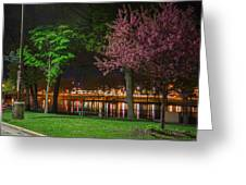 Northfield At Night Greeting Card