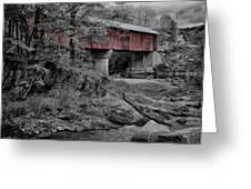 Northfield Falls Bridge Greeting Card