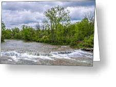 Northrup Road Waterfalls 2158 Greeting Card
