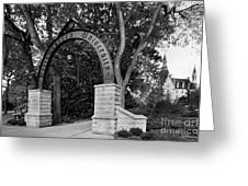 Northwestern University The Arch Greeting Card by University Icons