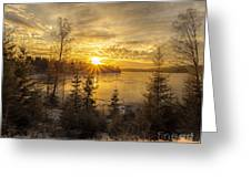 Norway Hedmark Greeting Card
