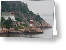 Norway Lighthouse 2 Greeting Card