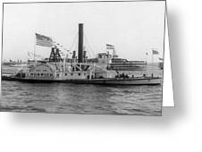 Norwich Steamboat, C1909 Greeting Card
