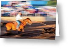 Norwood Colorado - Cowboys Ride Greeting Card