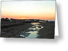 Nosara Playa Pelada Costa Rica Martian Landscape Greeting Card