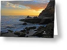 Nosara Playa Pelada Costa Rica Rocky Sets Greeting Card