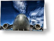 Nose Of A C-17 Greeting Card