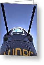 Nose Turret Of The B-24 J Greeting Card
