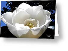 Relief - Deep Blue Greeting Card