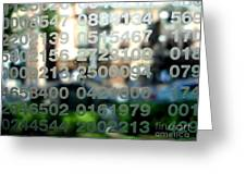 Not Just Numbers Greeting Card