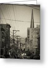 Not So Old San Francisco Greeting Card