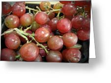 Not Sour Grapes Greeting Card