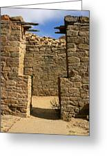 Notched Doorway Greeting Card