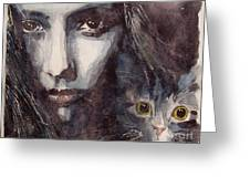 Nothing Compares To You  Greeting Card by Paul Lovering