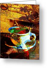 Nothing Like A Hot Cuppa Joe In The Morning To Get The Old Wheels Turning 20130718 Greeting Card