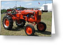 Nothing Like A Tractor Show Greeting Card by Victoria Sheldon
