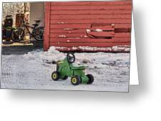 Nothing Runs Like A Deere #4 Greeting Card