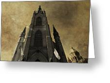 Notre Dame Basilica Greeting Card