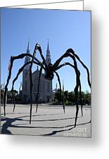 Notre-dame Cathedral Basilica I - Ottawa Greeting Card