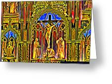Notre Dame Color Greeting Card