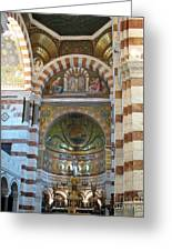 Notre Dame De La Garde Interior Greeting Card