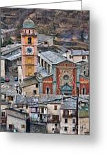 Notre Dame In Tende Greeting Card