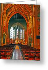 Notre Dame Of Luxembourg Greeting Card