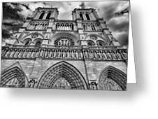 Notre Dame Greeting Card