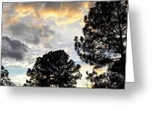 Nov 22 2011 Small Cross In Clouds Greeting Card