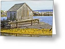 Nova Scotia Shack Greeting Card