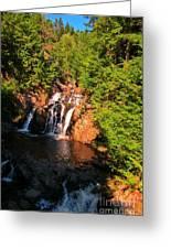 Nova Scotia Water Falls Greeting Card