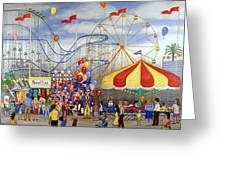 Novelties At The Carnival Greeting Card