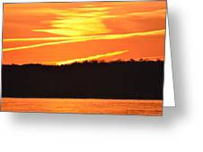 November 11 Sunrise 2014  Greeting Card