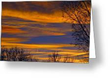 November Skies Greeting Card