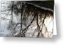 November's Rippled Reflections Greeting Card