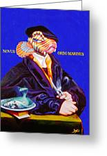 Novus Ordo Marinus Greeting Card