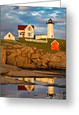 Nubble Lighthouse No 1 Greeting Card