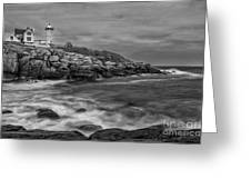 Nubble Storm Greeting Card