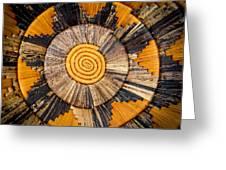 Nubian Basket Greeting Card