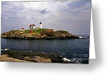 Nuble Lighthouse Greeting Card