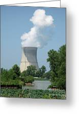 Nuclear Energy And Environment Greeting Card