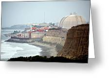 Nuclear Generating Station Greeting Card