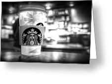 Nuclear Starbucks Greeting Card