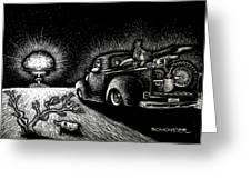 Nuclear Truck Greeting Card