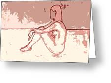 Nude 27 Greeting Card