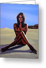 Nude Beach Beauty Greeting Card