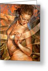 Nude Girl7 Greeting Card