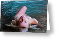 Nude Reflection Greeting Card